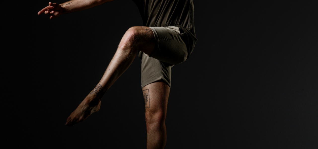jambes homme